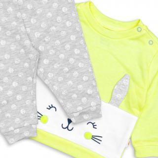 Бебешки комплект Зайче